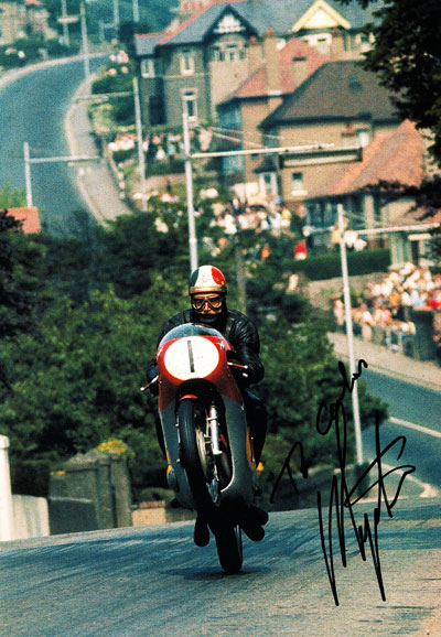 Isle Of Man Tt >> GIACOMO AGOSTINI-autograph collection of Carlos Ghys