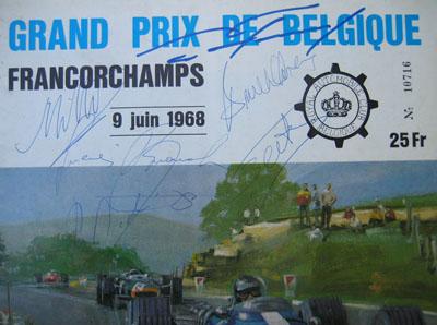 bruce mclaren-autograph collection of carlos ghys