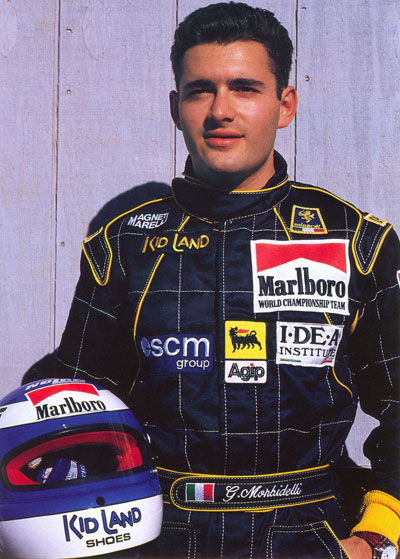 GIANNI MORBIDELLI-autograph collection of Carlos Ghys